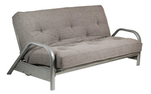 Metal Frame Futon Oslow One Third