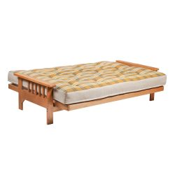 Cavendish 3 Seater Oak Futon