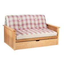 Pangkor 2 Seater Oak Futon