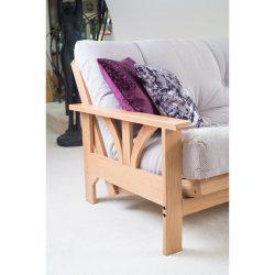Adelphi 3 Seater Oak Futon