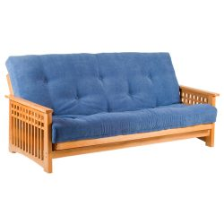Akino 3 Seater Oak Futon